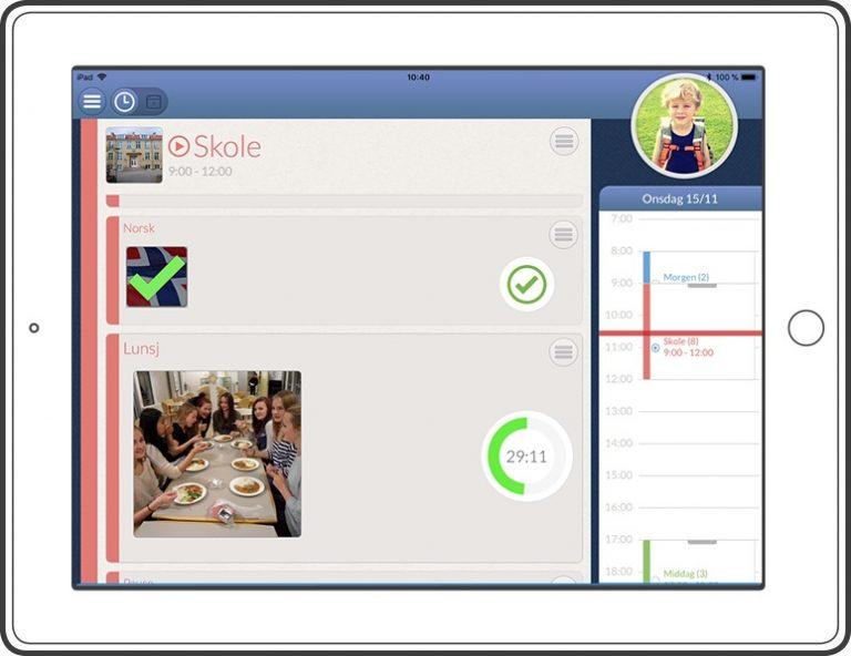 Lite og enkelt kognisjonsverktøy med e-post og internett
