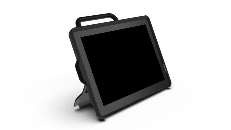 Gridpad touch 10 sett fra siden