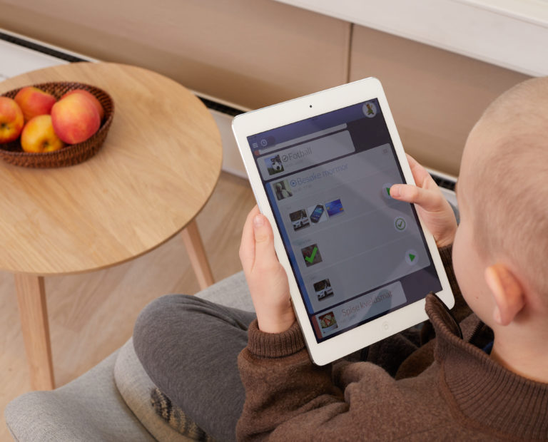 MobilizeMe på iPad