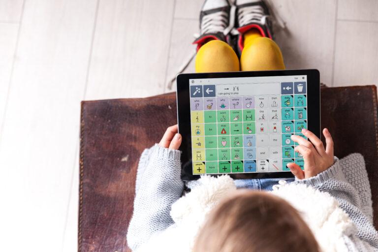 Grid for iPad i bruk